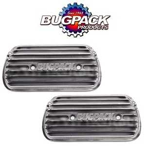 Bugpack Racing Bolt On Rocker Covers With Gaskets Etc Not Drilled For Breathers