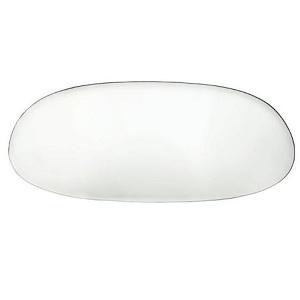 Clear Rear Windscreen Beetle Oval 7/52-8/57 Glass Window