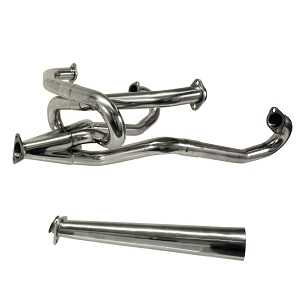 Merged Stainless Steel Exhaust Manifold Header 1300-1600cc Beetle and Camper