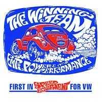 VW Empi Winning Team Sticker Super Item