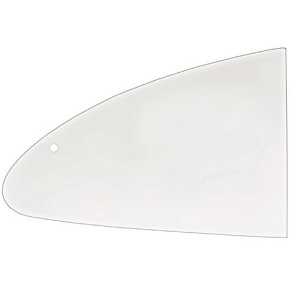 Clear Rear Side Window Karmann Ghia 1960-1974 Glass Window