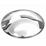 Domed Hubcaps With No Logo Baby Moon Style Set Of 4 Chromed Stainless Steel