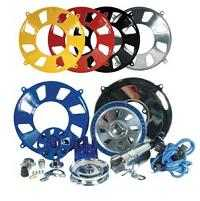 Chrome And Coloured Performance Engine Dress Up Kit Tin Wear