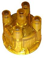 Yellow Gold See Through Distributor Cap