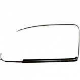 German Window Frame Trim Beetle 08/1964 Onwards Chrome