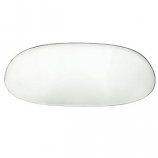 Clear Rear Windscreen Beetle Oval 7/52-8/57 Glass Window