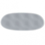 Grey Tint Rear Windscreen Beetle Oval 7/52-8/57 Glass Window