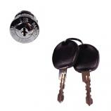 Ignition Barrel With Keys All Models 08/1967-1970
