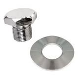 Chrome Cal Look Crank Pulley Nut