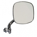 Stainless Steel Door Mirror Bay Window Camper 68-79 Right Hand Side