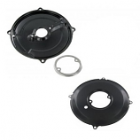 Reproduction Black Alternator And Dynamo Backing Plate Kit 1200-1600cc