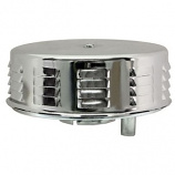 Chrome Louvered Air Filter 1200-1600cc VW Beetle And Camper