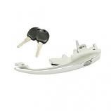 Chrome Beetle Door Handle And Key 1968-