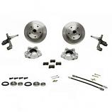 Brake Disc Conversion Kit Beetle 1966 Onwards Dropped Spindles and Porsche Stud Pattern