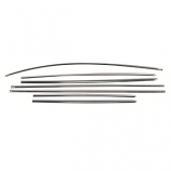 Beetle Stainless Steel Moulding Trim Set 10/1952-07/1962