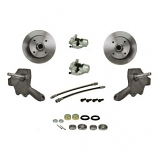 Brake Disc Conversion Kit Beetle 8/65- With Dropped Spindles