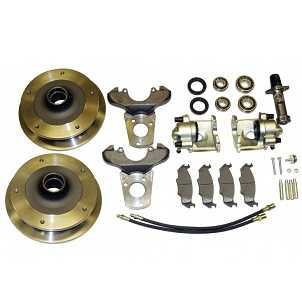 Front Brake Disc Conversion Kit Beetle Upto 8/65 5x205