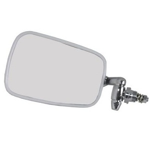 Budget Chrome Door Mirror Beetle 68-79 Standard Left Hand