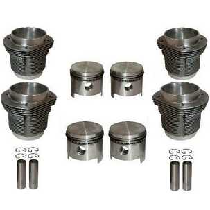 Complete Barrel And Piston Kit 2056cc For 2 Litre Engines