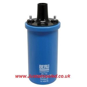Beru 12 Volt Ignition Coil Oil Filled upto 1979