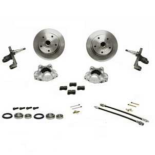 Brake Disc Conversion Kit Beetle 1966 Onwards Dropped Spindles and Porsche Stud Pattern