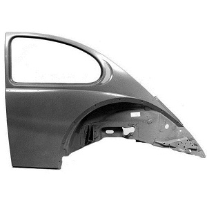 Complete Rear Quarter Panel Upto Roof Gutter 08/1964 Onwards Beetle
