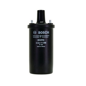 Bosch Black 12 Volt Ignition Coil upto 1979