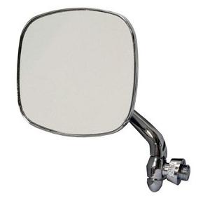 Stainless Steel Door Mirror Bay Window Camper 68-79 Left Hand Side