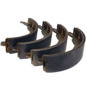 Rear Brake Shoes 08/1970-07/1971 Only Bay Window Camper