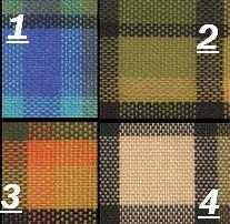 Top Quality Reproduction Westfalia Plaid Fabric Material