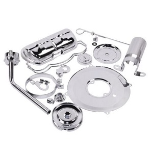 Chrome Cal Look Engine Dress Up Kit Tin Wear