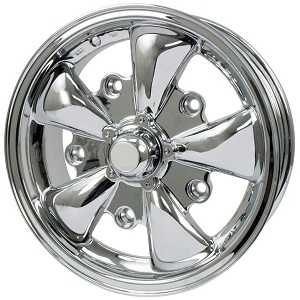 Beetle and Camper Empi 5 Spoke Style Alloy Wheel Wide 5 Stud 5x205mm