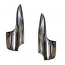Flat 4 Robri Style Stone Guards Rear Cast Flat 4 Logo