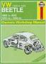 Haynes Workshop Manual Beetle 1300cc and 1500cc