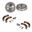 Rear Brake Drums Overhall Kit Beetle 1968 Onwards Shoes, Drums, Cylinders etc