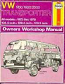 Haynes Workshop Manual Bay Window 1700cc to 2000cc