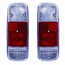 Rear Lamp Lens Clear Red Clear Bay Window Camper 72-79