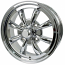 Beetle and karmann Ghia Empi 8 Spoke Style Alloy Wheel 4 Stud 4x130mm