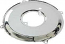 Chrome Cal Look Alternator And Dynamo Backing Plate
