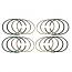 Complete Piston Ring Set 1200 77mm Upto 07/1972 Inc 30hp