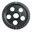 Empi Laser Engraved Satin Black Anodized Bottom Crankshaft Pulley