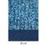 Carpet Kit Beetle 1303 1973- Right Hand Drive Complete Set Blue