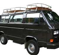 Type 25 Camper Roof Rack Finest Quality Stainless Steel and Wood Choice of Size