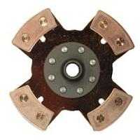 4 Puck Solid Clutch Plate 200mm Race Use