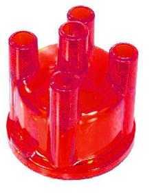 Red See Through Distributor Cap