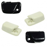 Sunvisor Clips Pair Black Or White Beetle 65- Karmann Ghia 68-
