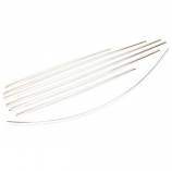 Beetle Chrome Or Black Moulding Trim Set 08/1972-