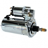 Polished Chrome Starter Motor Beetle 8/67 Onwards & type 2 -75