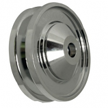 Billet Chrome Alternator Dynamo 12v Pulley