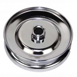Best Quality Chrome Cal Look Spin True Alternator Pulley